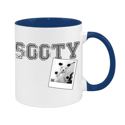Sooty Varsity Retro Two Colour Mug