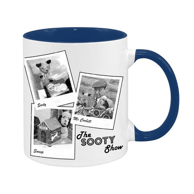Sooty Show Polaroid Two Colour Mug