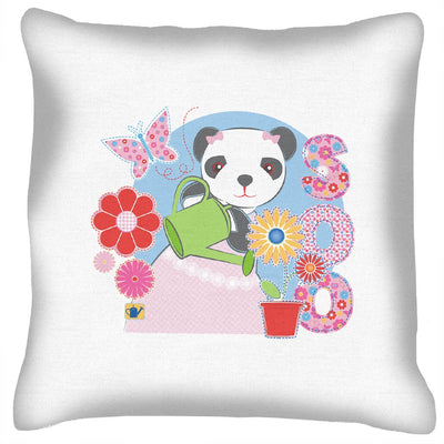 Sooty Soo Watering Flowers Cushion