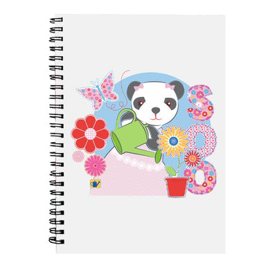 Sooty Soo Watering Flowers A5 Spiral Notebook