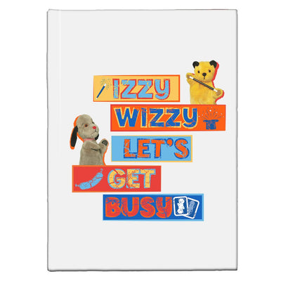 Sooty Izzy Wizzy Let's Get Busy Stacked A5 Hardcover Notebook