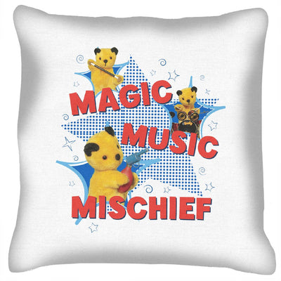 Sooty Magic Music Mischief Cushion