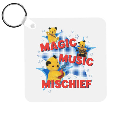 Sooty Magic Music Mischief Keyring