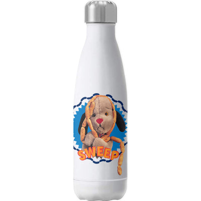 Sooty Sweep's Sausages Yellow Text Print Insulated Stainless Steel Water Bottle