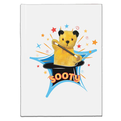 Sooty Magic Hat A5 Hardcover Notebook