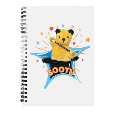 Sooty Magic Hat A5 Spiral Notebook