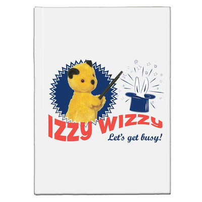 Sooty Izzy Wizzy Let's Get Busy A5 Hardcover Notebook