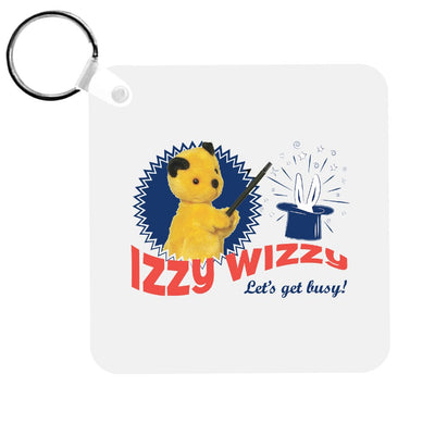 Sooty Izzy Wizzy Let's Get Busy Keyring