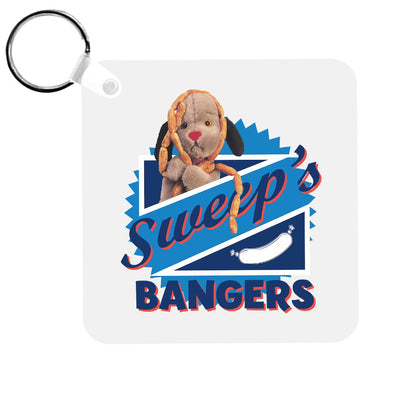 Sooty Sweep's Bangers Keyring