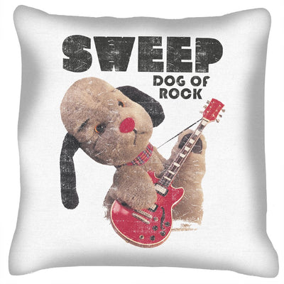 Sooty Sweep Dog of Rock Cushion