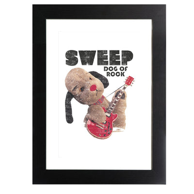 Sooty Sweep Dog of Rock Framed Print