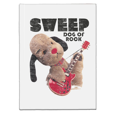 Sooty Sweep Dog of Rock A5 Hardcover Notebook
