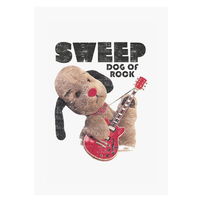 Sooty Sweep Dog of Rock A3 Print-Sooty's Shop