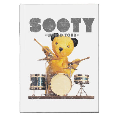 Sooty World Tour A5 Hardcover Notebook