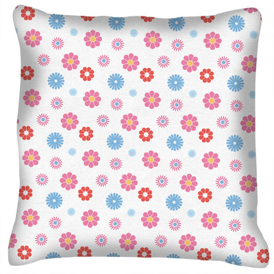 Sooty Floral Pattern Cushion
