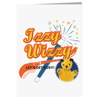Sooty Izzy Wizzy Magic Wand A5 Greeting Card-Sooty's Shop