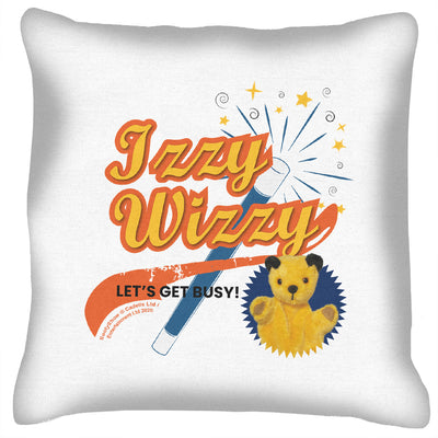 Sooty Izzy Wizzy Magic Wand Cushion-Sooty's Shop
