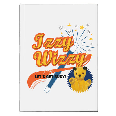 Sooty Izzy Wizzy Magic Wand A5 Hardcover Notebook-Sooty's Shop