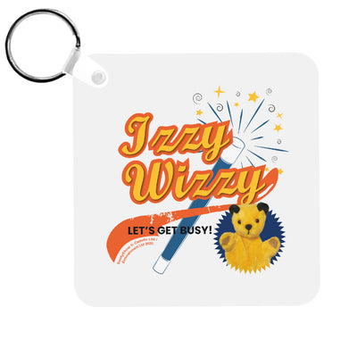 Sooty Izzy Wizzy Magic Wand Keyring-Sooty's Shop
