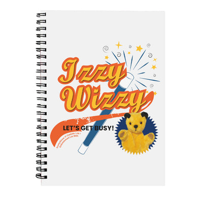 Sooty Izzy Wizzy Magic Wand A5 Spiral Notebook-Sooty's Shop