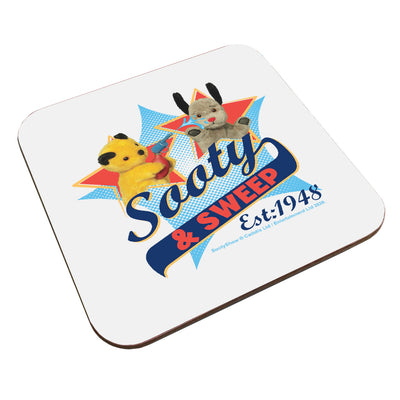 Sooty And Sweep Established 1948 Coaster-Sooty's Shop