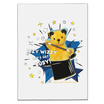 Sooty Izzy Wizzy Magic Hat A5 Hardcover Notebook-Sooty's Shop