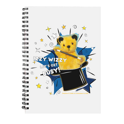 Sooty Izzy Wizzy Magic Hat A5 Spiral Notebook-Sooty's Shop