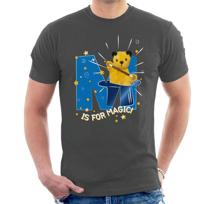 Sooty Top Hat M Is For Magic Men's T-Shirt-Sooty's Shop
