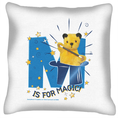 Sooty M Is For Magic Cushion-Sooty's Shop