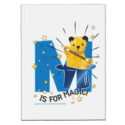 Sooty M Is For Magic A5 Hardcover Notebook-Sooty's Shop
