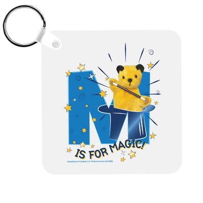 Sooty M Is For Magic Keyring-Sooty's Shop