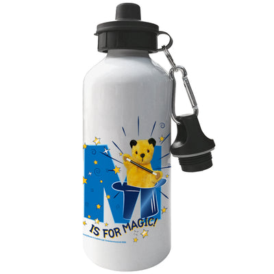 Sooty M Is For Magic Aluminium Sports Water Bottle-Sooty's Shop
