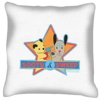 Sooty And Sweep Water Fun Cushion-Sooty's Shop