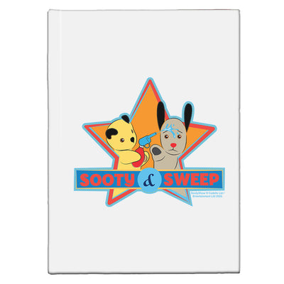 Sooty And Sweep Water Fun A5 Hardcover Notebook-Sooty's Shop