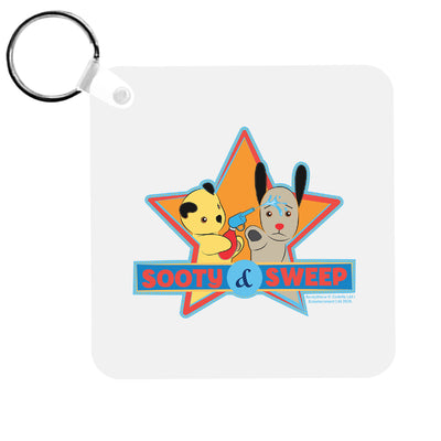 Sooty And Sweep Water Fun Keyring-Sooty's Shop
