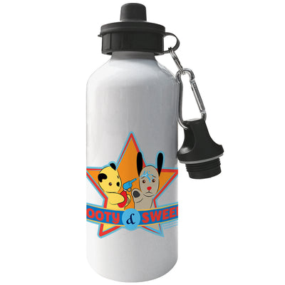 Sooty And Sweep Water Fun Aluminium Sports Water Bottle-Sooty's Shop