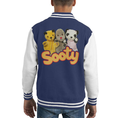 Sooty Sweep & Soo Kid's Varsity Jacket-Sooty's Shop