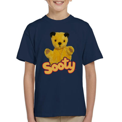 Sooty Wave Logo Kid's T-Shirt-Sooty's Shop