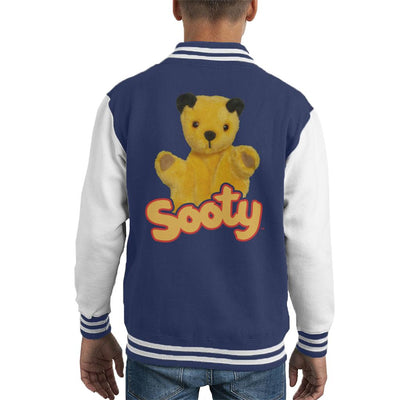Sooty Wave Logo Kid's Varsity Jacket-Sooty's Shop
