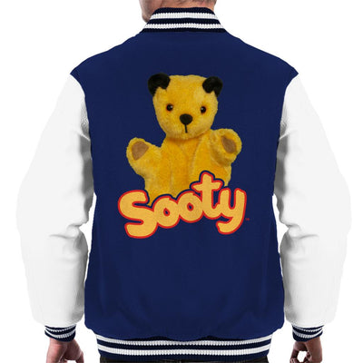 Sooty Wave Logo Men's Varsity Jacket-Sooty's Shop