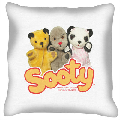 Sooty Sweep And Soo Friends Cushion-Sooty's Shop