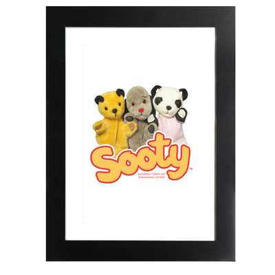 Sooty Sweep And Soo Friends Framed Print-Sooty's Shop