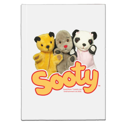 Sooty Sweep And Soo Friends A5 Hardcover Notebook-Sooty's Shop