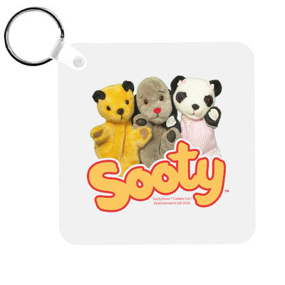 Sooty Sweep And Soo Friends Keyring-Sooty's Shop