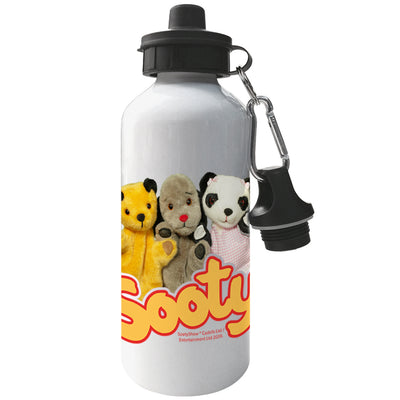 Sooty Sweep And Soo Friends Aluminium Sports Water Bottle-Sooty's Shop