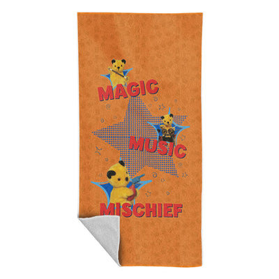 Sooty Magic Music Mischief Beach Towel-Sooty's Shop