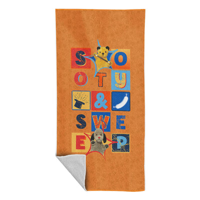 Sooty And Sweep Beach Towel-Sooty's Shop