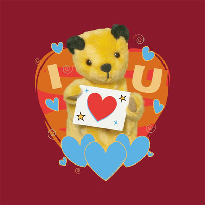 Sooty I Heart You Valentines Greeting Card-Sooty's Shop