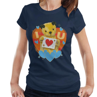 Sooty I Heart You Valentines Women's T-Shirt-Sooty's Shop