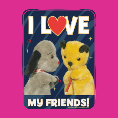 Sooty I Love My Friends Greeting Card-Sooty's Shop